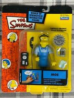 New MOE the BARTENDER Simpsons Playmates WOS Action Figure WORLD OF SPRINGFIELD