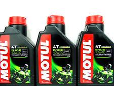 3x 1Liter Motul 5100 Motorradöl 10W40 Motoröl Öl 4-Takt SAE Motorenöl ESTER