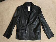 LIMITED EDITION John Varvatos LAMBSKIN leather jacket size 50 EU/40 US large L