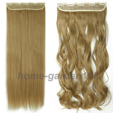 As Real Thick 200g Clip in Full Head Hair Extensions Extension As human hair QW0