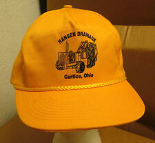 HANSEN DRAINAGE baseball cap Curtice hat excavation contractors OHIO wet wells