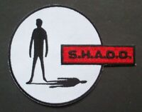 UFO S.H.A.D.O. (British TV Series) Embrodiered Patch - Gerry Anderson -new