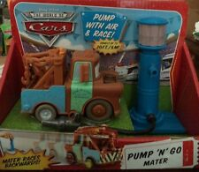 DISNEY PIXAR CARS PUMP N GO MATER *NEW* UP TO 20 FT
