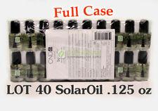LOT 40 CND Essentials SOLAROIL .125 oz /3.7mL Solar Oil Nail Cuticle Conditioner