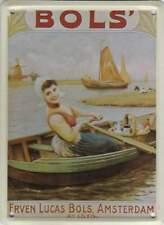 Metalen Kaart/Tin-Card/Blechkarte - Erven Lucas Bols Amsterdam (023)
