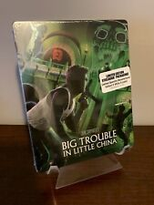 Big Trouble In Little China Steelbook (Blu-ray, 1986, Shout Factory)  Sealed