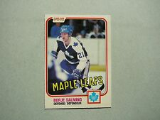 1981/82 O-PEE-CHEE NHL HOCKEY CARD #307 BORJE SALMING NM SHARP!! 81/82 OPC