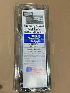 RDS 11025 Diesel Install Kit (Auxiliary/Transfer Fuel Tanks) (Ford Chevy Dodge)