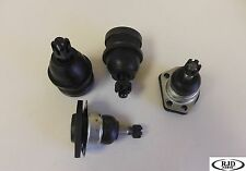 Fit 2000-2003 Chevrolet S10 (2WD) 2 Upper 2 Lower Ball Joint Kit
