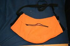 Thinsulate Orange Handwarmer Muff, with Zipper Pocket & Strap,