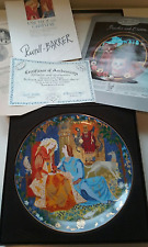 "NEW ""LANCELOT AND GUINEVERE"" COLLECTOR PLATE FRANK & GERTRUDE RUSSELL-BARRER"