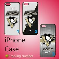 Pittsburgh Penguins NHL ice Hockey New Case Cover For iPhone BG#