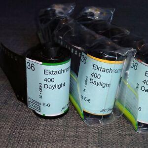 35mm-Ektachrome 400 Daylight Cine Color Reversal film slide (*5 rolls)
