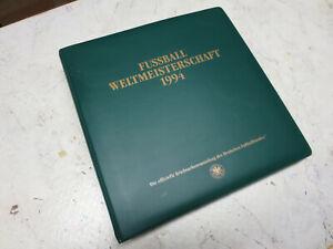 Fussball Weltmeisterschaft USA 1994 Borek Ringalbum mit 78 Seiten mit Marken