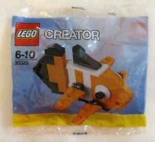NEW LEGO CLOWN FISH Set 30025 sealed polybag stocking stuffer promo orange nemo