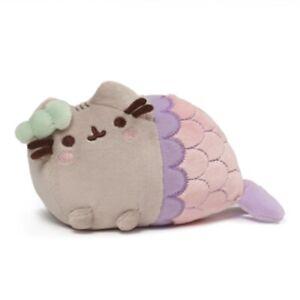 Pusheen The Cat - Pusheen Mermaid Spiral Shell GUND Soft Toy Plush