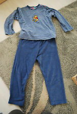 Schlafanzug Frottee Winnie Puh 110 DISNEY Winnie the Pooh Nicki 6 Jahre Jungen
