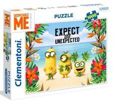 Clementoni MINIONS Expect Unexpected BEACH 1000 pieces PUZZLE Despicable Me