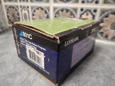 Genuine Lexmark 801C Cyan Toner Cartridge: CX310-CX410-CX510