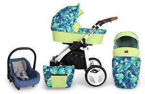Kinderwagen Kunert ROTAX 3 in 1 Sportwagen Babywagen Autositz Babyschale NEU