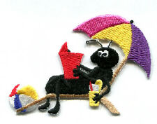 Ant - Beach - Picnic - Summer - Food - Embroidered Iron On Applique Patch
