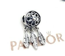PANDORA Silver 925 ALE Inspired Spiritual Dream Catcher Dangle Charm 797200 #XX