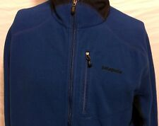 Patagonia Full Zip Blue Polar Fleece Zip Size Large Jacket Winter Snowboard Ski