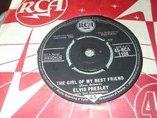 ELVIS PRESLEY THE GIRL OF MY BEST FRIEND 7 inch single Original