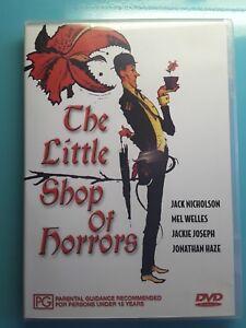 The Little Shop Of Horrors DVD Roger Corman 1960 Jonathan Haze