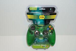 Logitech Cordless Attack Controller Original OG Xbox 2.4 GHz - New in Box