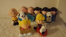Peanuts Charlie Brown & Lucy Talk Linus Snoopy Schroeder Sally McDonalds Toys
