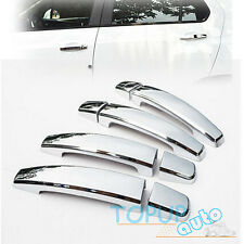 FIT FOR CHEVROLET TRAX TRACKER CHROME DOOR HANDLE CATCH COVER CAP TRIM OVERLAY