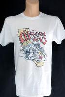 Grateful Dead Band T Shirt Skeletons Surfing California Vintage Retro Style