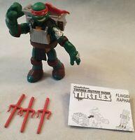 TMNT Flingers Raphael Action Figure with Weapons Teenage Mutant Ninja Turtles