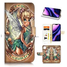 ( For iPhone 11 ) Wallet Flip Case Cover PB21612 TinkerBell