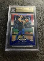 LUKA DONCIC 2019-20 PRIZM #75 RED WHITE BLUE PRIZM BGS 9.5 GEM MINT DALLAS