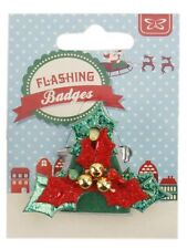 Christmas Party Badges & Pins