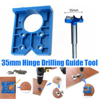 35mm Drilling Door Locator Concealed Hinge Hole Boring Jig Drill Guide