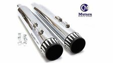 "MUTAZU 4"" Roaring Series MF-01 Slip-On Mufflers Exhaust 1995-2016 Harley Touring"