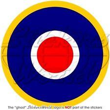 RAF Luftwaffe ROYAL AIRFORCE Type C1 Roundel 100mm Vinyl Sticker Aufkleber