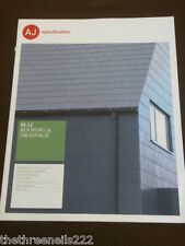 AJ SPECIFICATION - ROOFING & DRAINAGE - JAN 2012