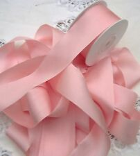 "100% PURE SILK RIBBON~PEACHY/PINK~ COLOR  1 1/2""[36MM] WIDE  5 Yds  ~SALE~"