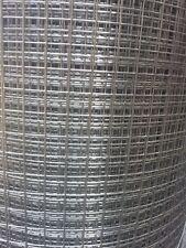 Edelstahl Volierendraht Masche 12,7 x 12,7 mm - Meterware -