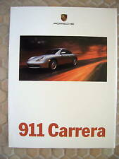 PORSCHE OFFICIAL 911 CARRERA 996 PRESTIGE BROCHURE 1999 2nd USA EDITION