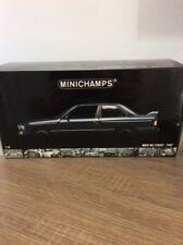 Minichamps BMW M3 E30 Street Blue 1/18th Rare!