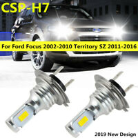 LED H7 Headlight Hi/Low Beam bulbs for Ford Focus 2002-2010 Territory SZ 2011-16