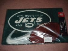New York Jets Starter Mat Home Room Bedroom  Rug Team Logo Licensed NFL Genuine