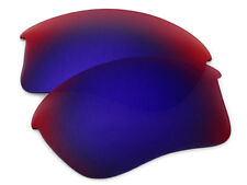 Red Purple Polarized Replacement Sunglass Lenses for Oakley Flak Jacket XLJ