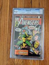 Avengers (1st Series) #135 1975 CGC 9.2 Thanos, Ultron, Vision, Starlin