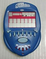 RADICA BIG SCREEN SOLITAIRE 2004 LIGHTED ELECTRONIC HANDHELD GAME - FREE SHIP!
